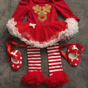 Other - Babies first Christmas dress